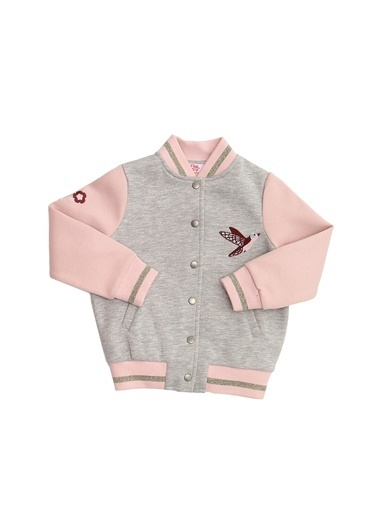 Pink&Orange Ceket Gri